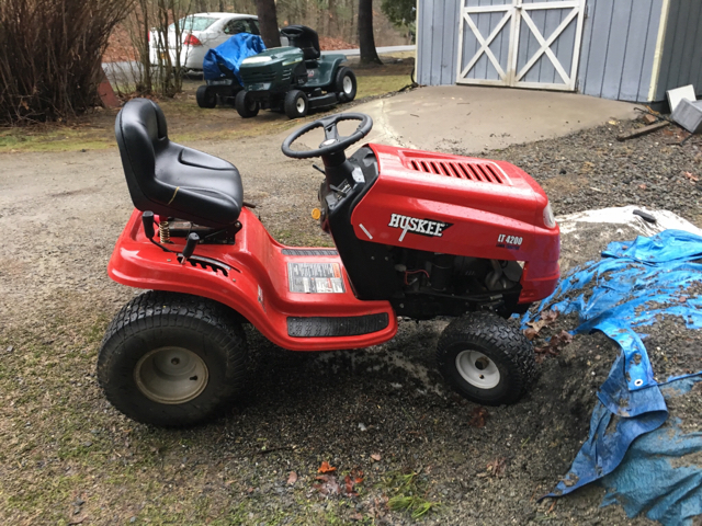 1971 Mtd Tractors : Found a huskee mtd today lawn mower forums lawnmower