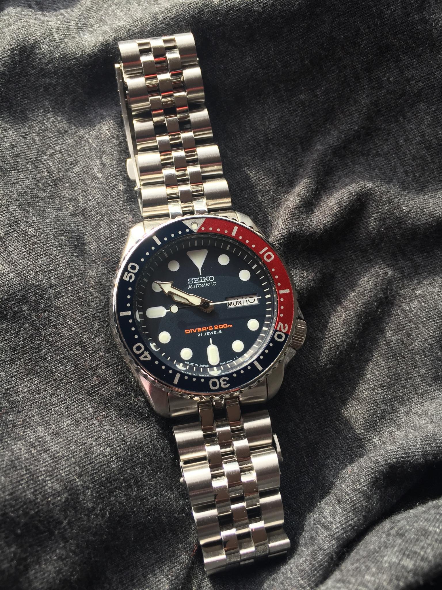 Skx Stock Quote Seiko Skxangus Jubilee Bracelet From Strapcode  Seiko & Citizen