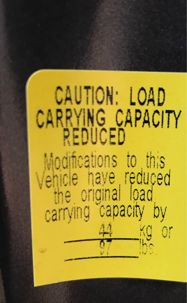 Tundra Towing Capacity >> Payload Sticker Picture Post - TundraTalk.net - Toyota ...