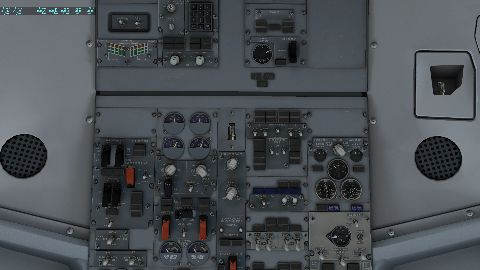 Flight Displays Black - 737-300 Aircraft Systems and