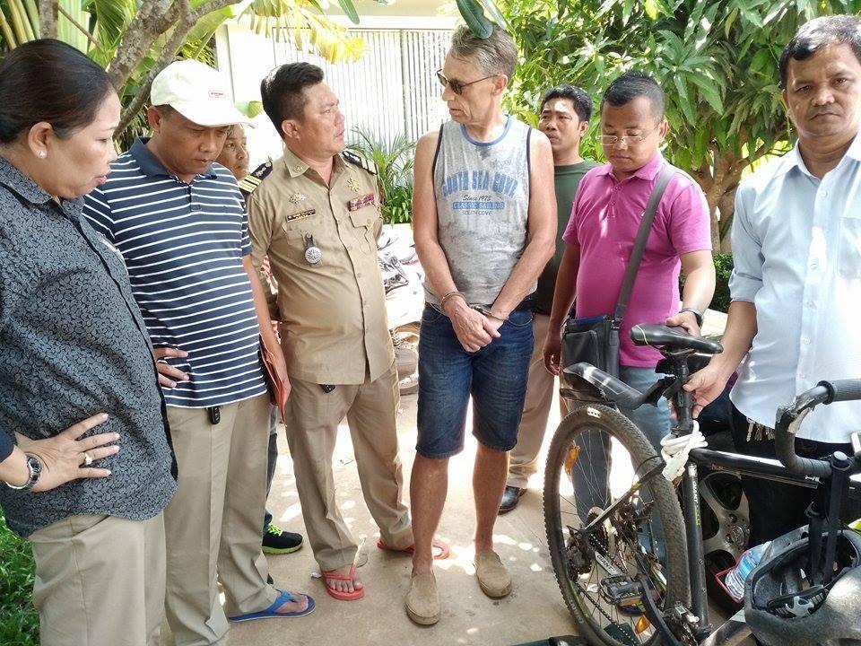 Siem Reap: Dutch Sarot Evrard Nicolas arrested after
