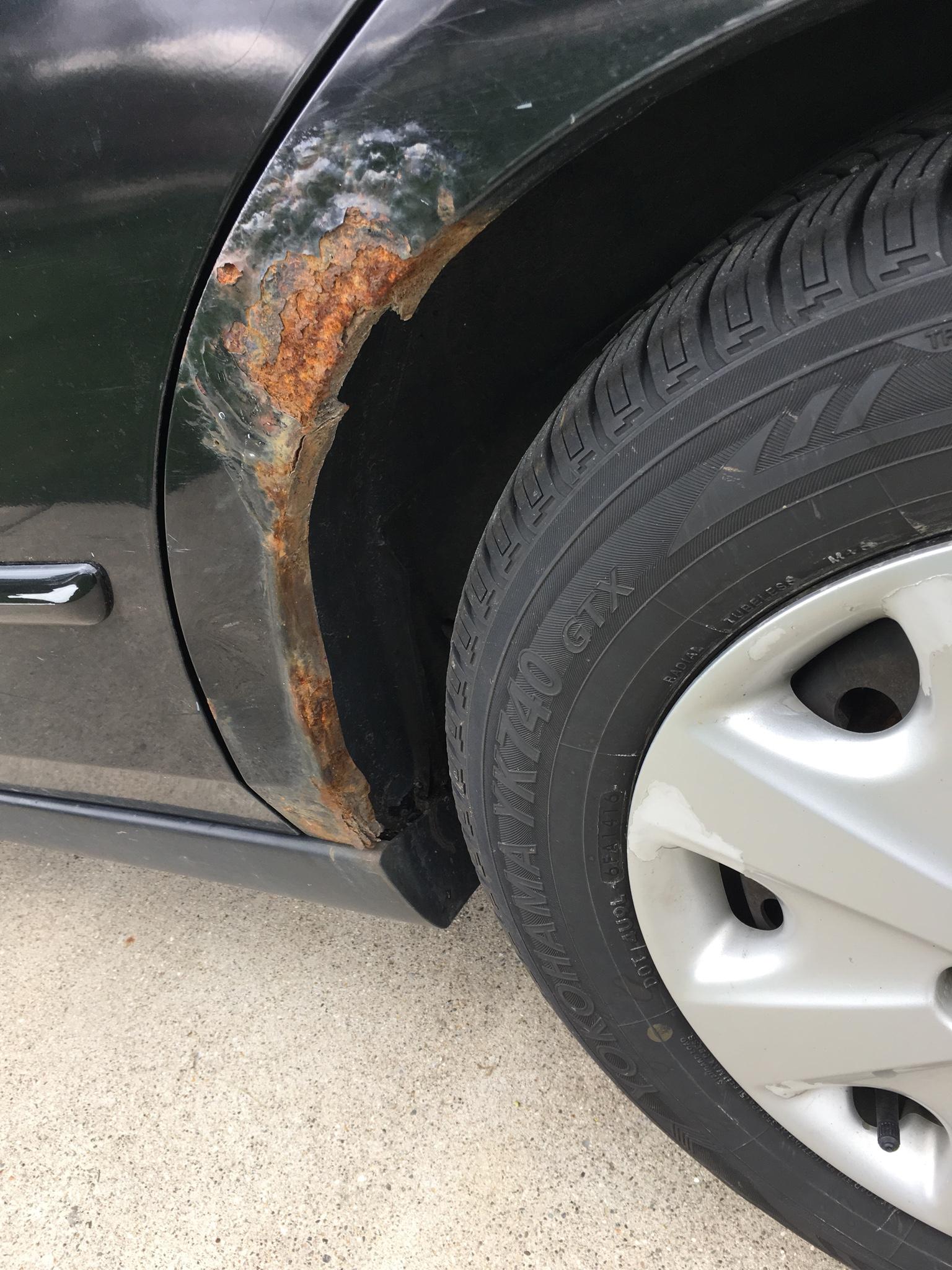 quarter panel rust drive accord honda forums