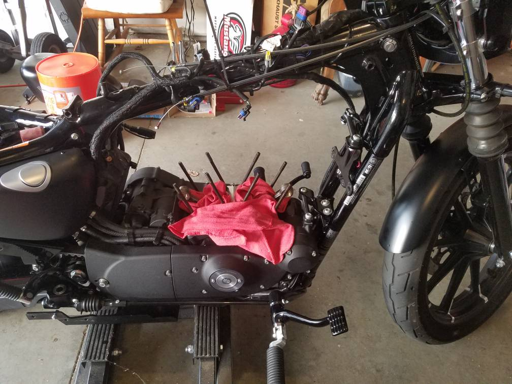 Hammer 1275 conversion - Page 3 - The Sportster and Buell