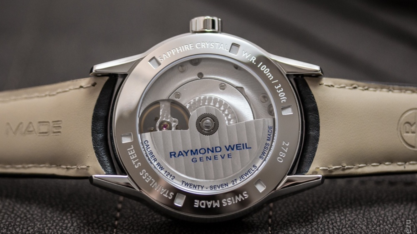 Raymond Weil\'s new in house movement