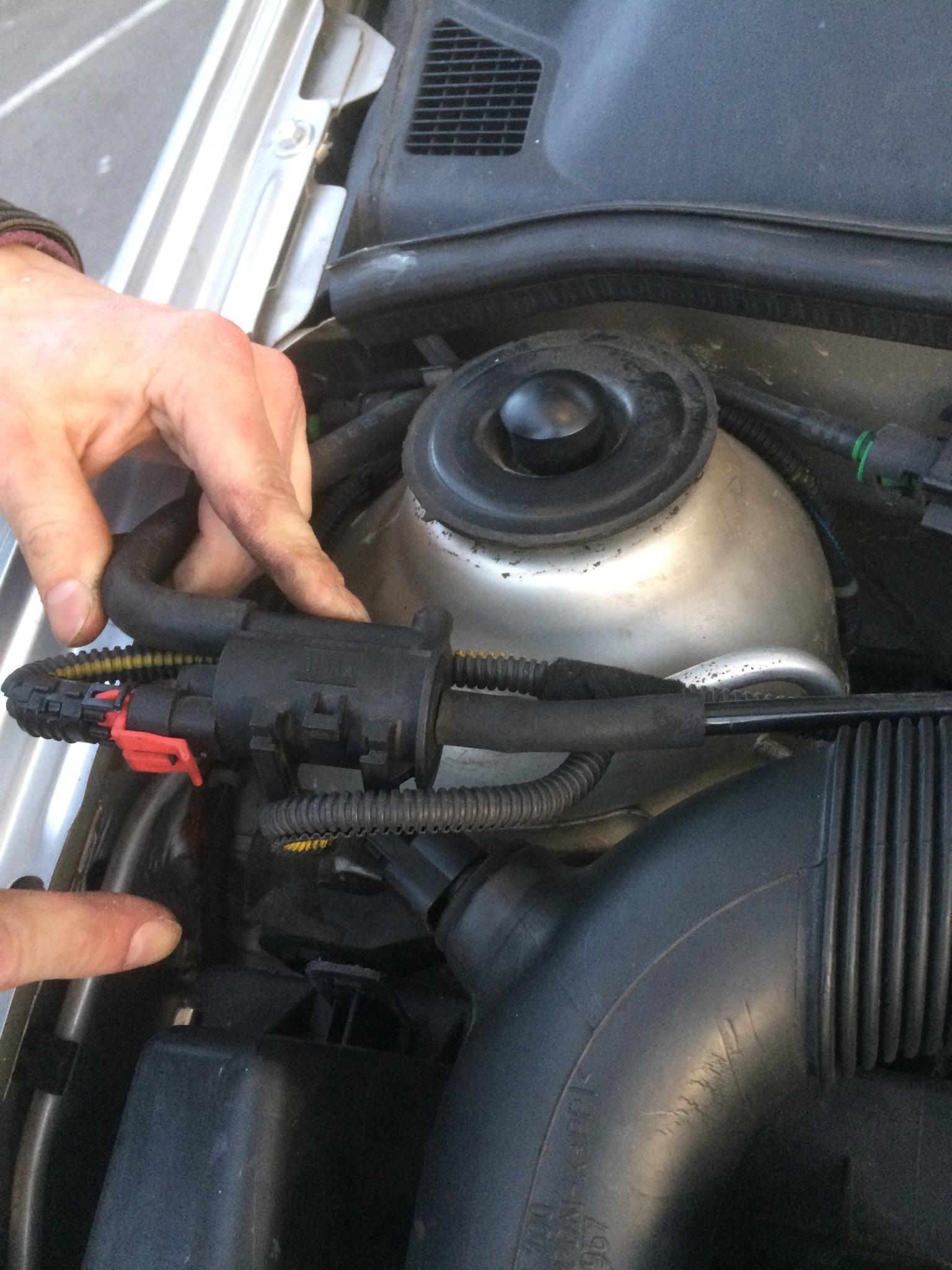 Unterdruck Motor Geht Aus Wenn Das Tankentl Ftungsventil