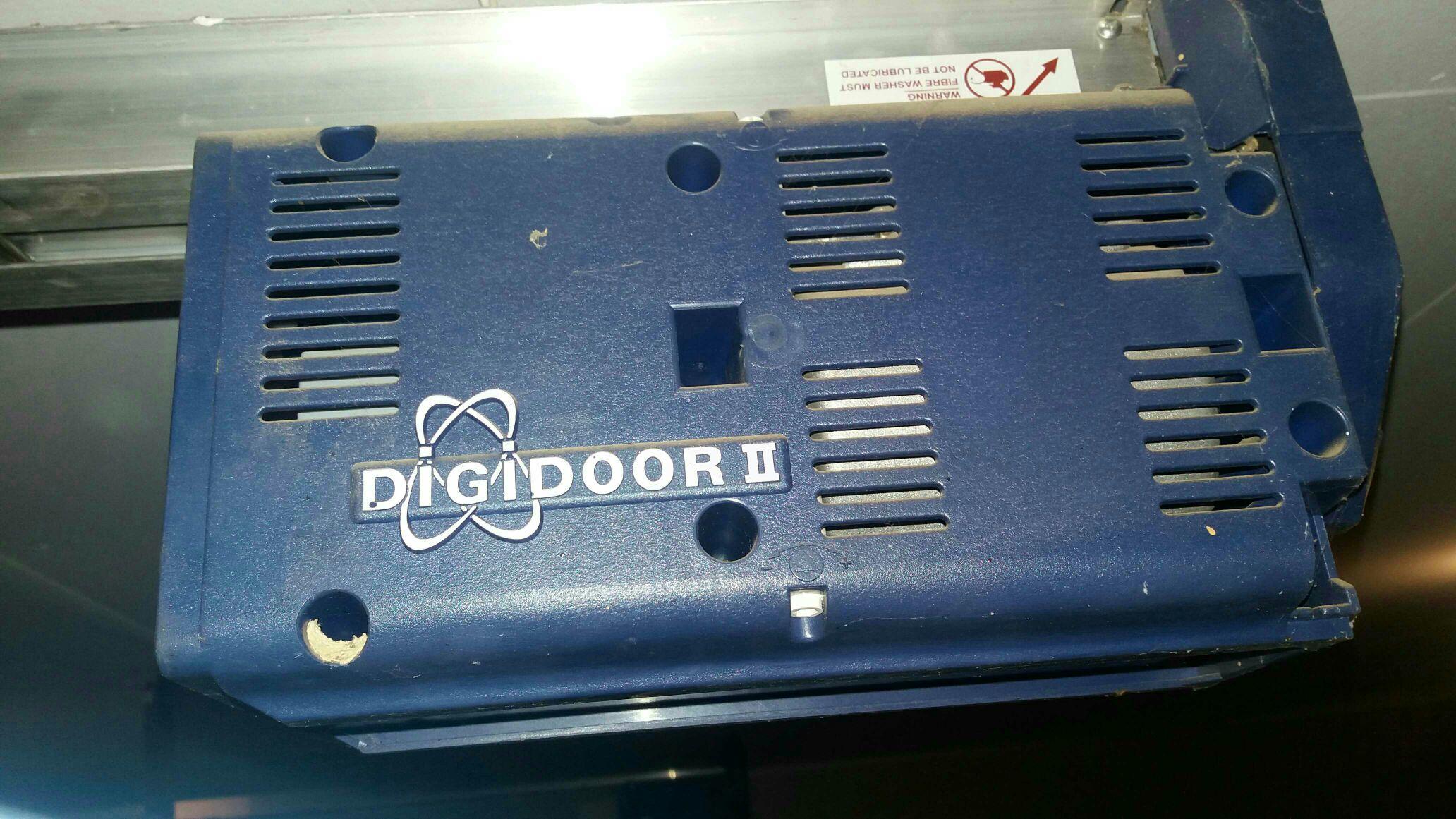Garage Door Only Opens 20cm Digidoor 2