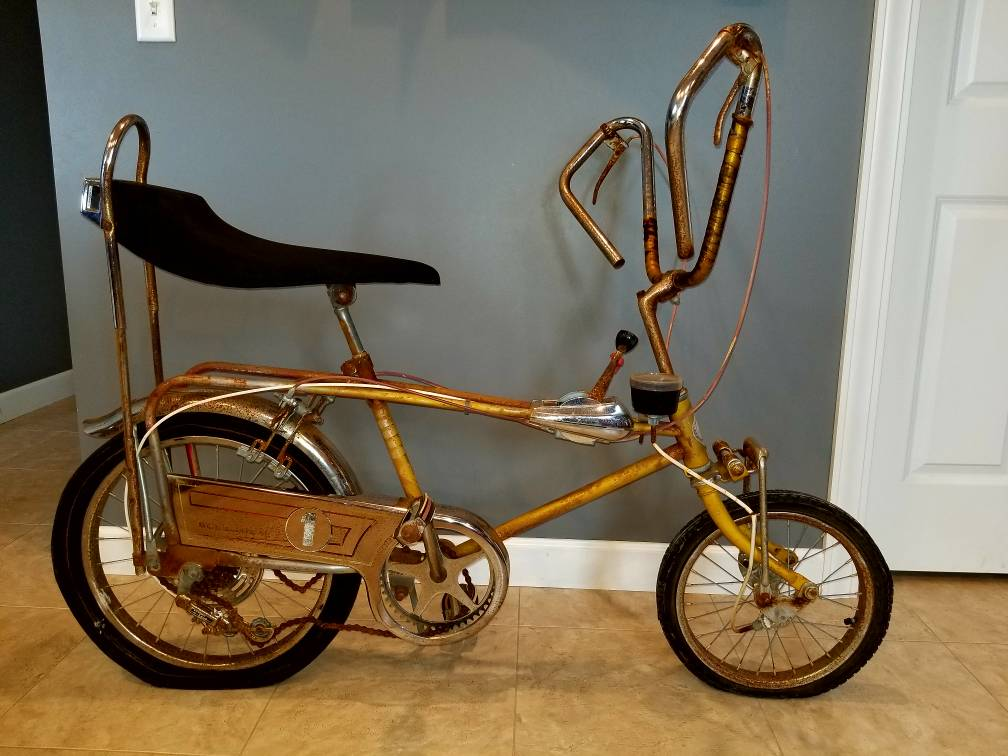 Picked Up A Sears Screamer Today Rat Rod Bikes