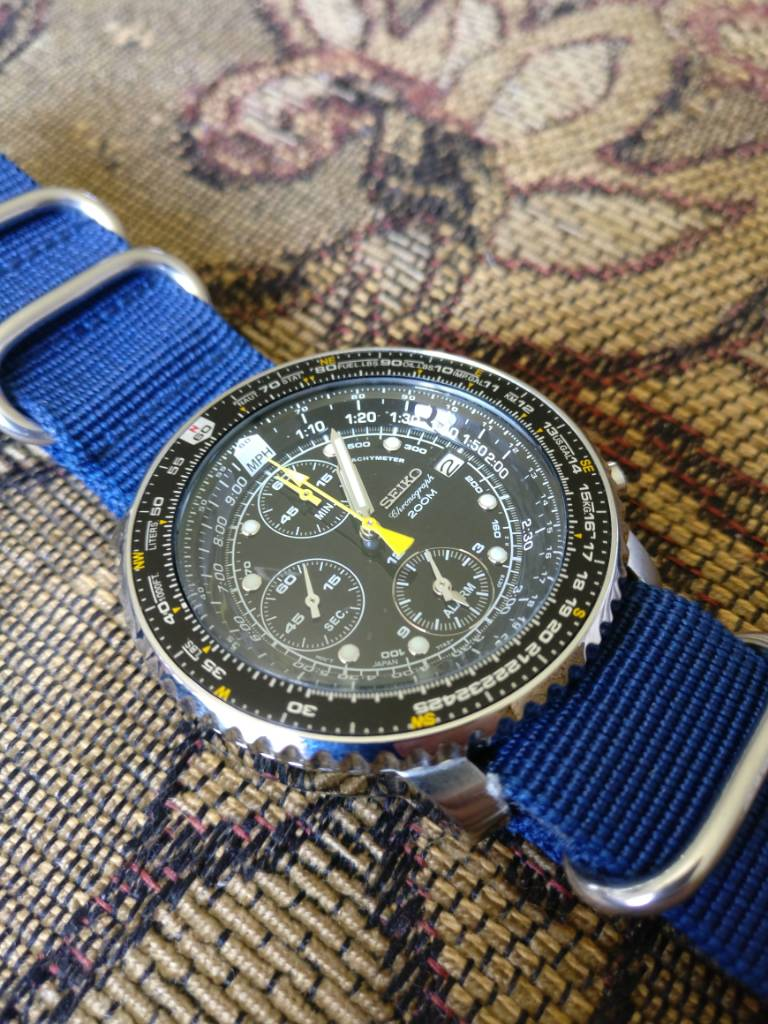 SOLD!!!!!FS Seiko Flightmaster SNA411