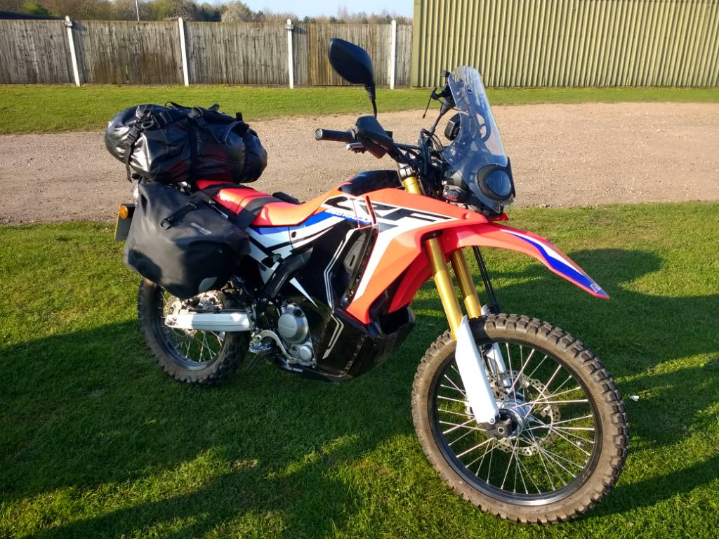 Luggage For Crf250 Rally Adventure Rider