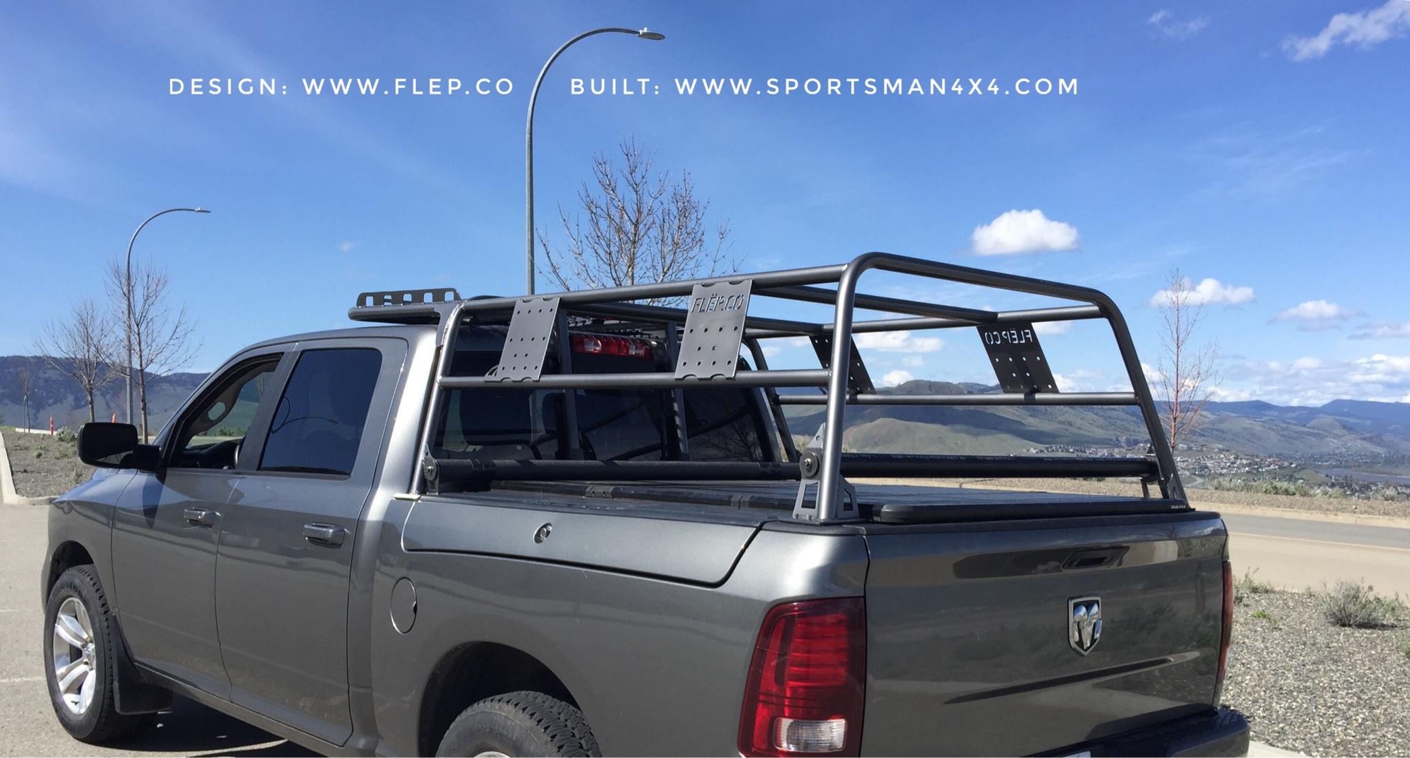 ladder rack and ram box