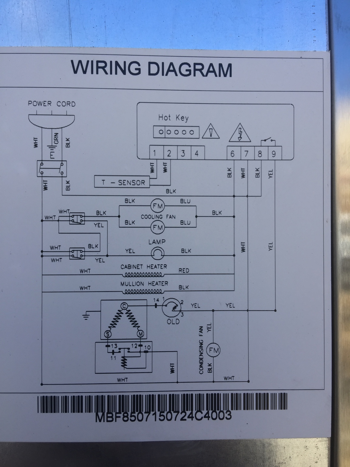 Reach In Coolers For Control Wiring | Wiring Diagram on