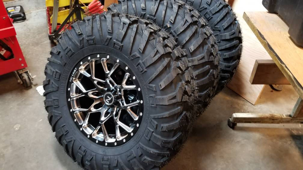 Please Share Your Wheel Tire Combo Page 4 Polaris