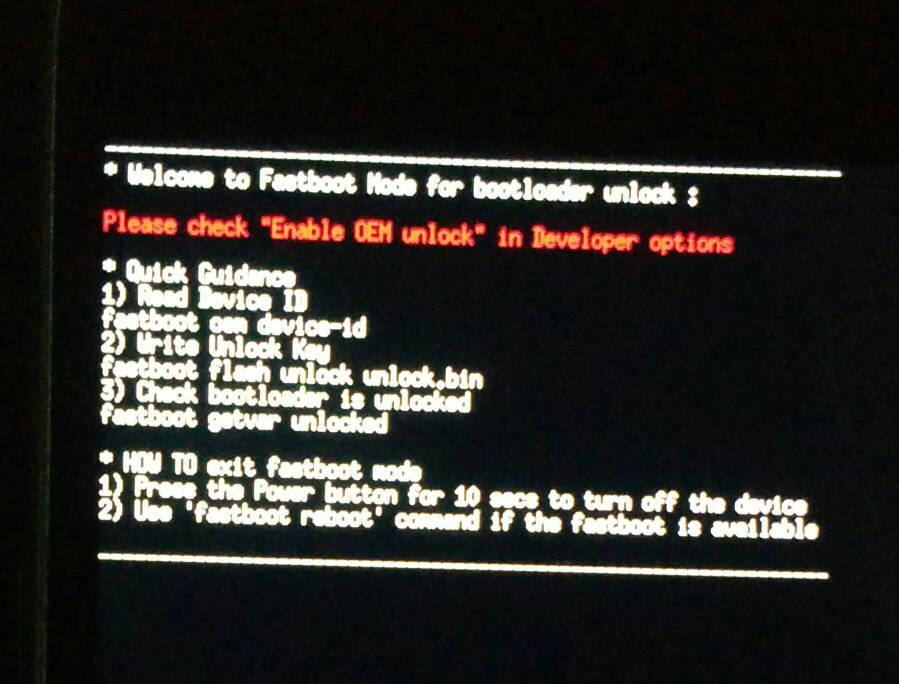 how to fix fastboot lg g