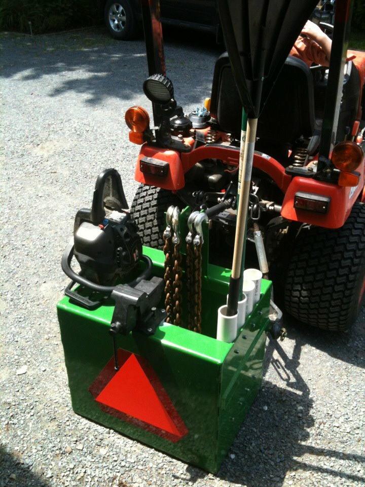 Tractor Ballast Box : Ballast box for r
