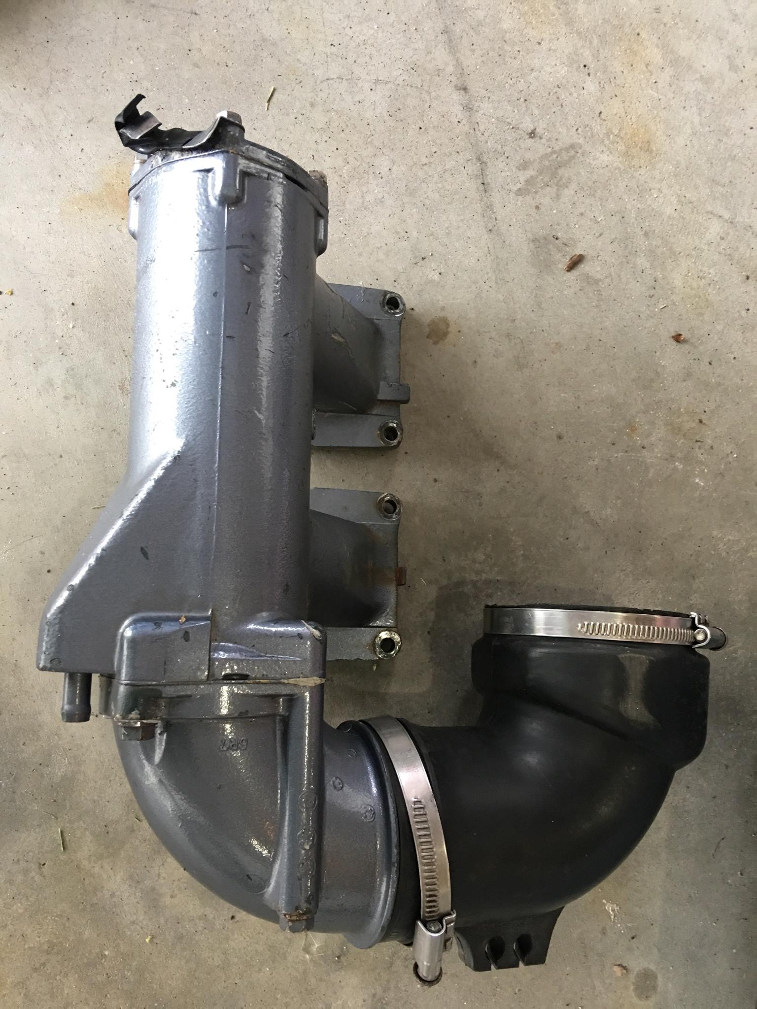 Stock superjet/wave blaster 61x exhaust