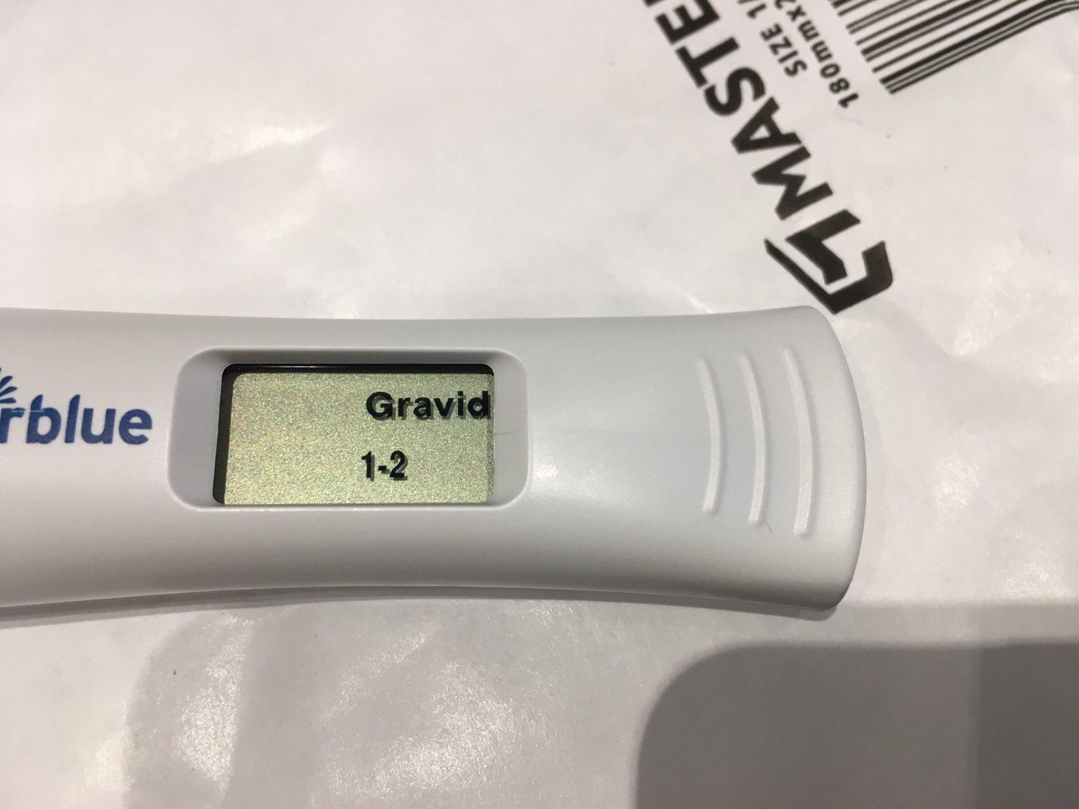schwangerschaftstest positiv clearblue early