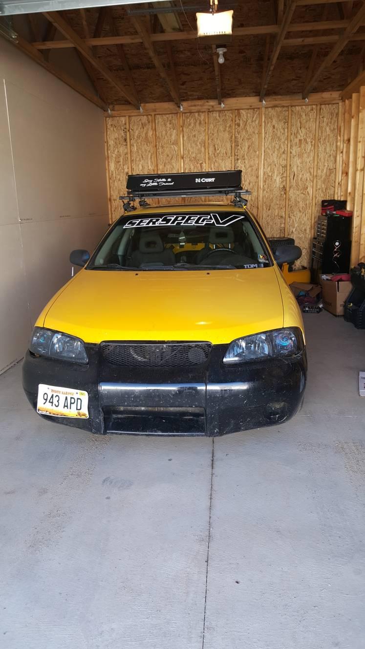 All B15 Models Rally Spec sentra