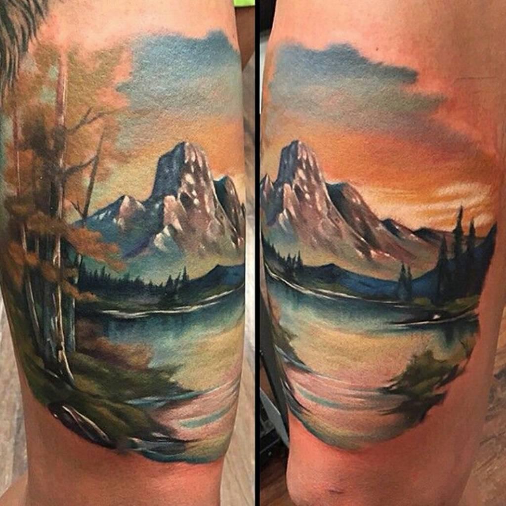 Для мужчин - Тату эскизы Галерея идей для татуировок Фото эскизов 74