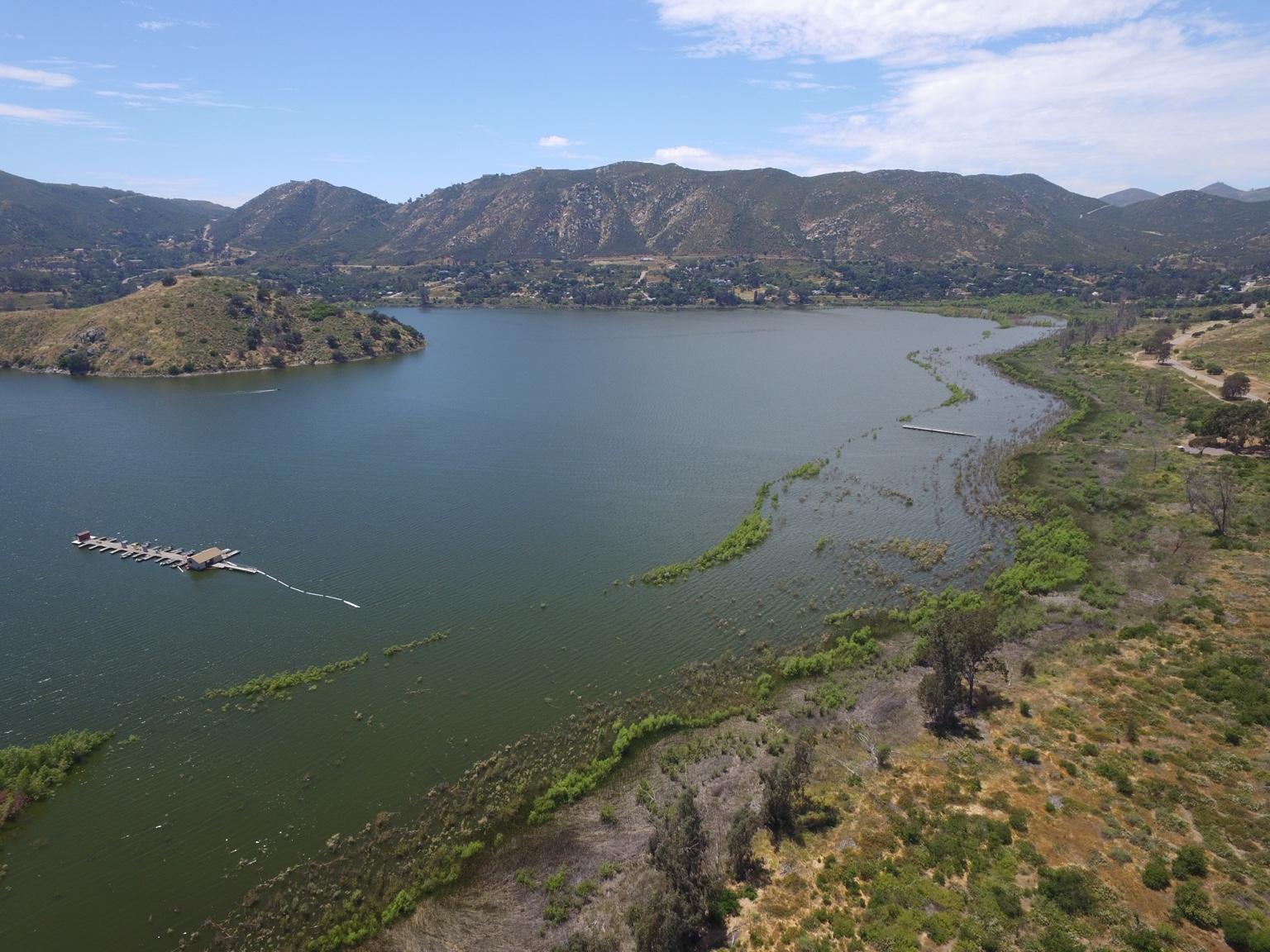 Lake hodges california dji phantom drone forum for Lake hodges fishing