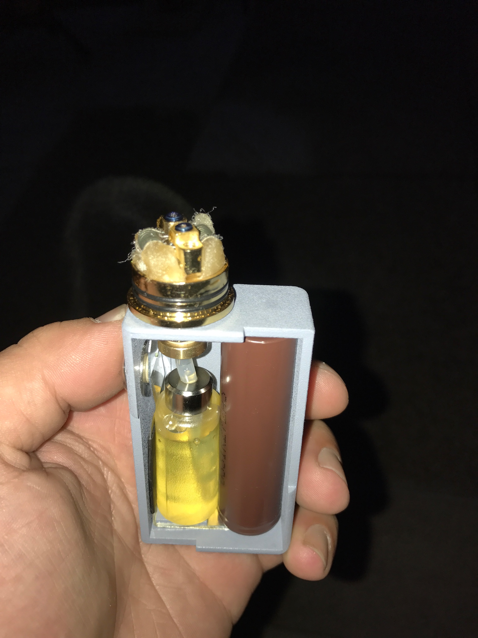 First mech mod and first squonker | Vaping Underground