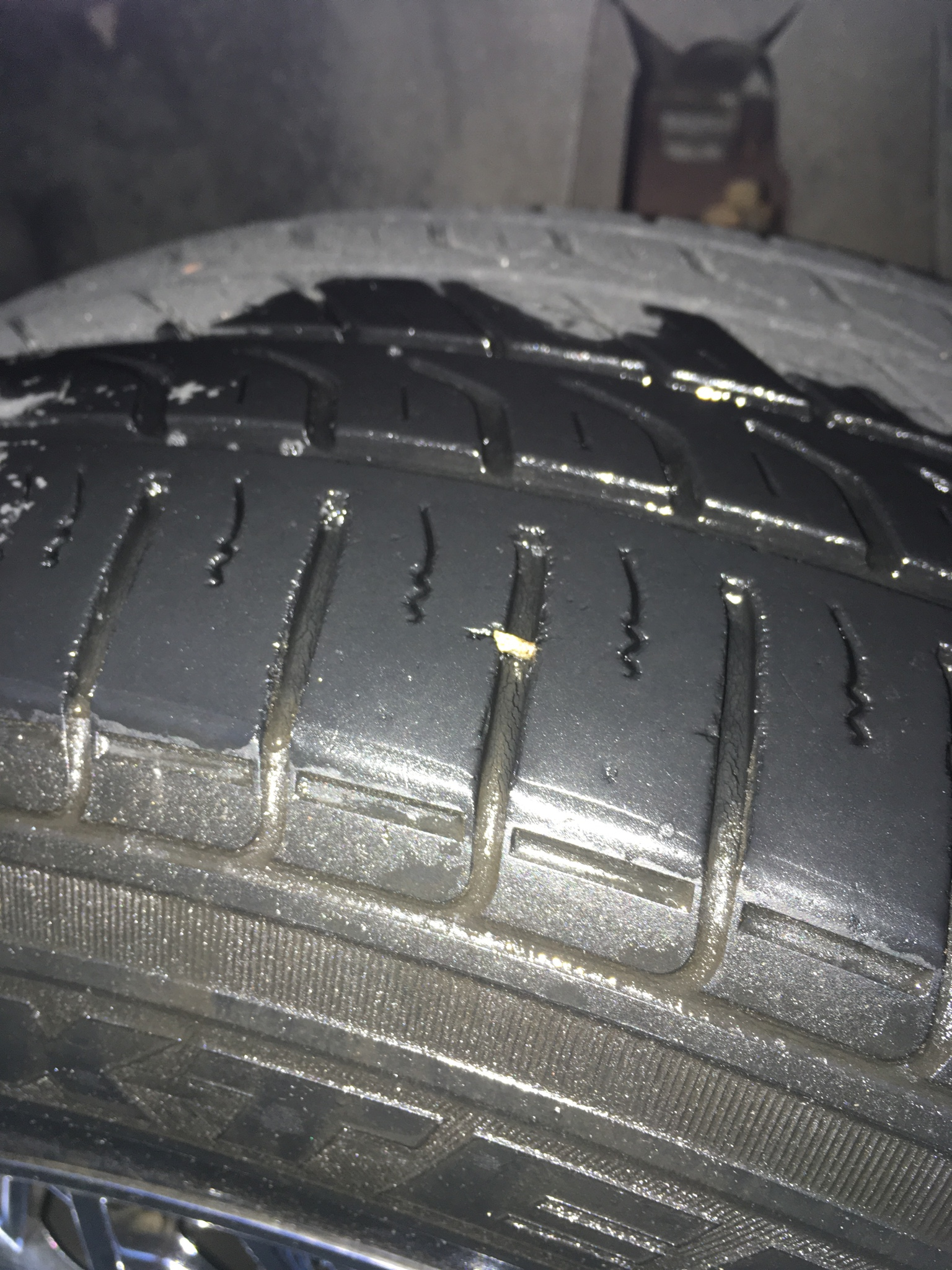 Nail in my tire.