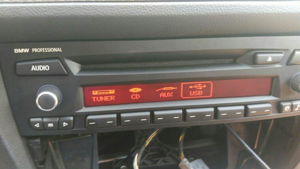 Дооснащение USB и Bluetooth в BMW E90/E87 с Business CD - Аудио