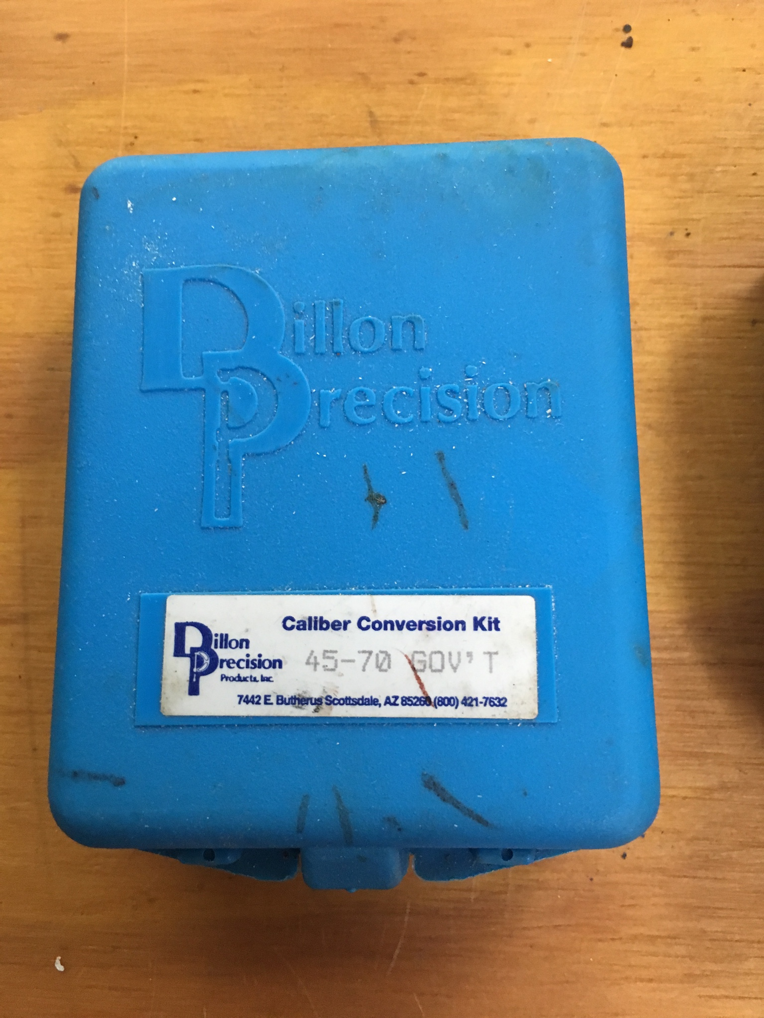 WTS Dillon 550 Conversions and a bag of brass!