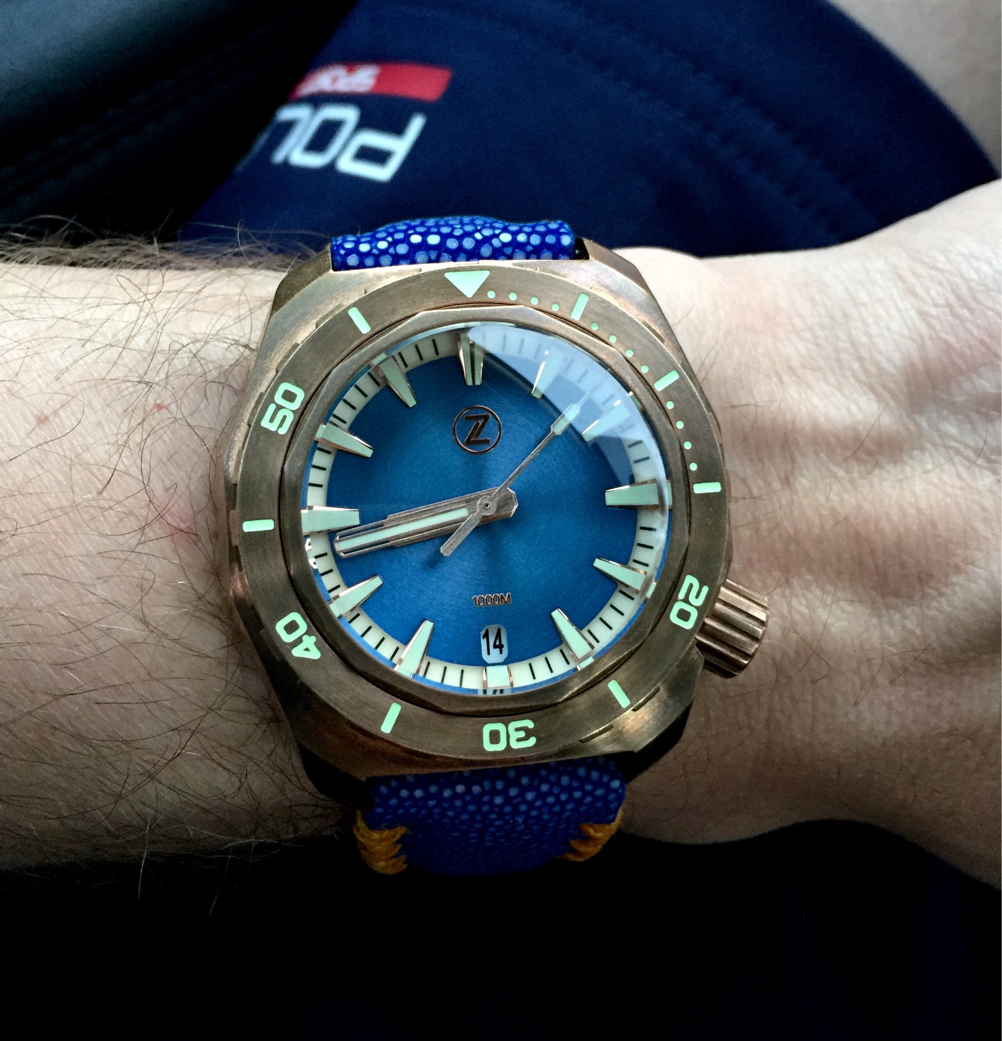 deep youtube watch blue diver taucheruhr orca watches protac