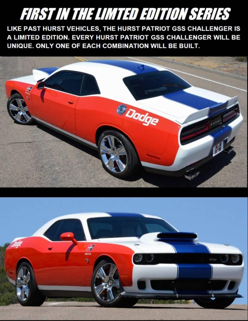 Hurst GSS Patriot Challenger - Dodge Charger Forums