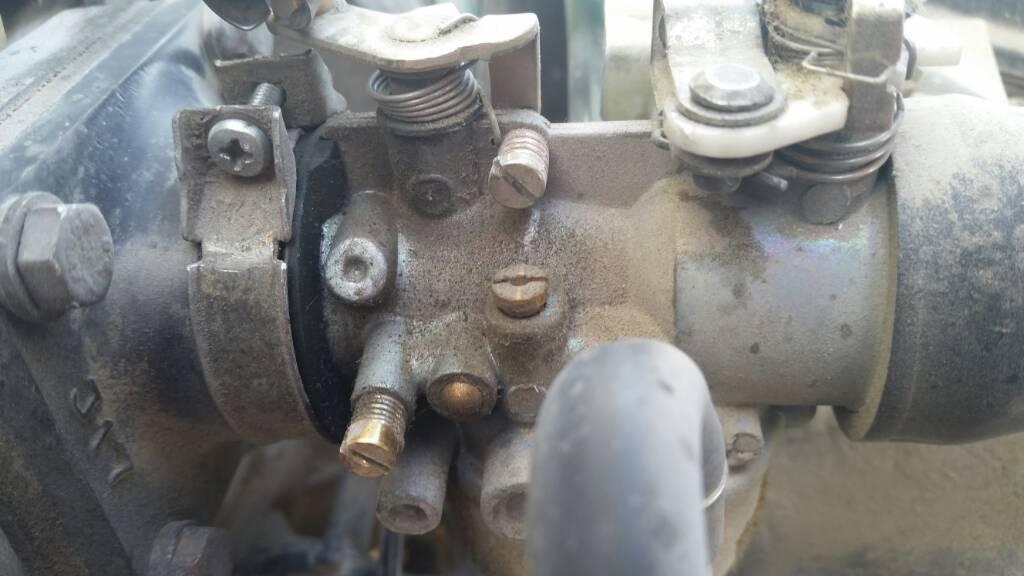 g1 carb adjustments Golf Cart Clutch Rebuild