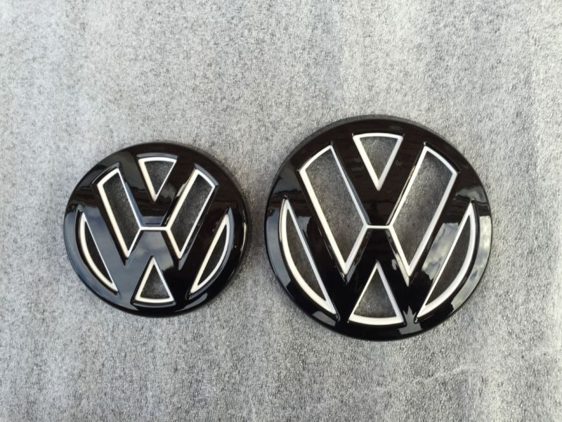 Vw Tdi Performance >> VWVortex.com - White on white VW emblem