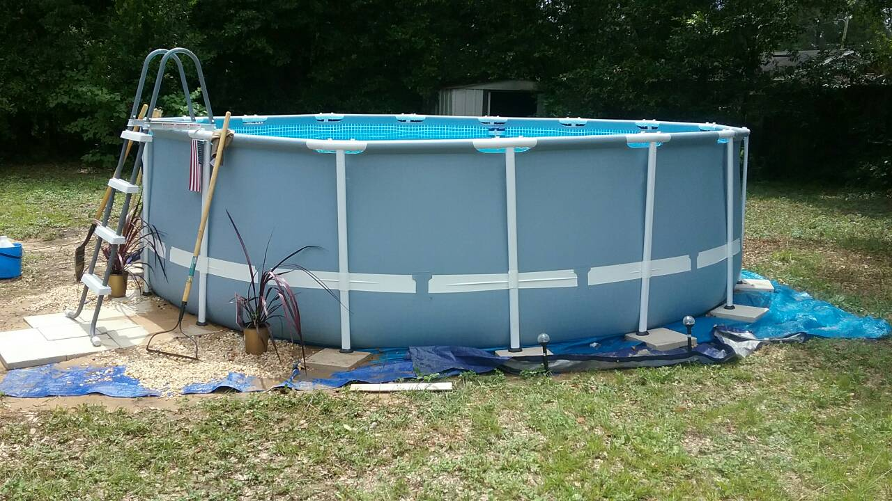 Landscaping Around Base Of Intex Ultra Frame Pools Page 7