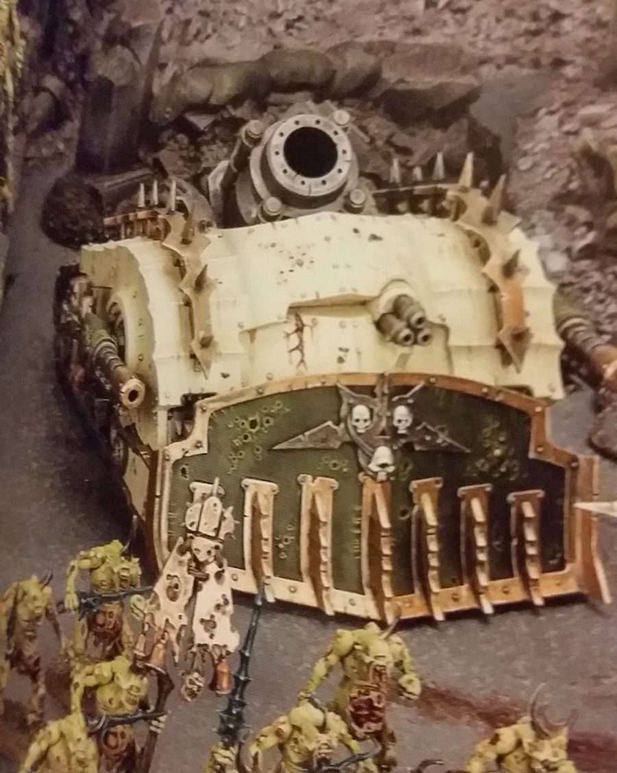 Image result for death guard tank