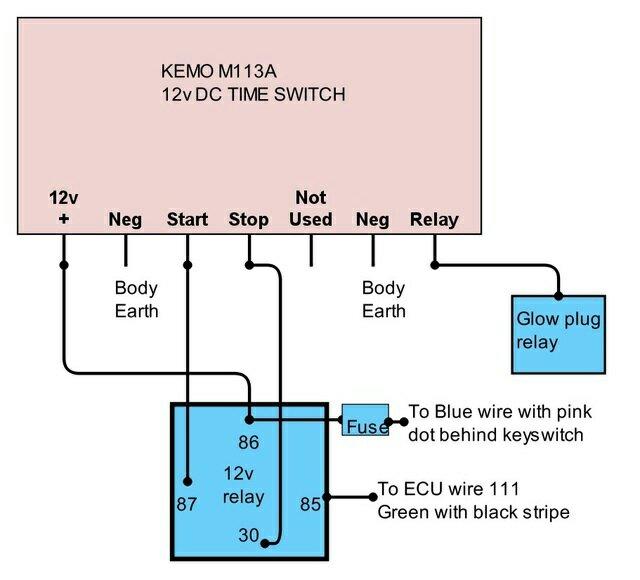 Zd30 Di Glow Plug Timer Mod - Patrol 4x4