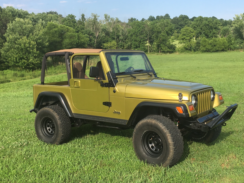 1999 Rescue Green TJ Jeep Wrangler Forum
