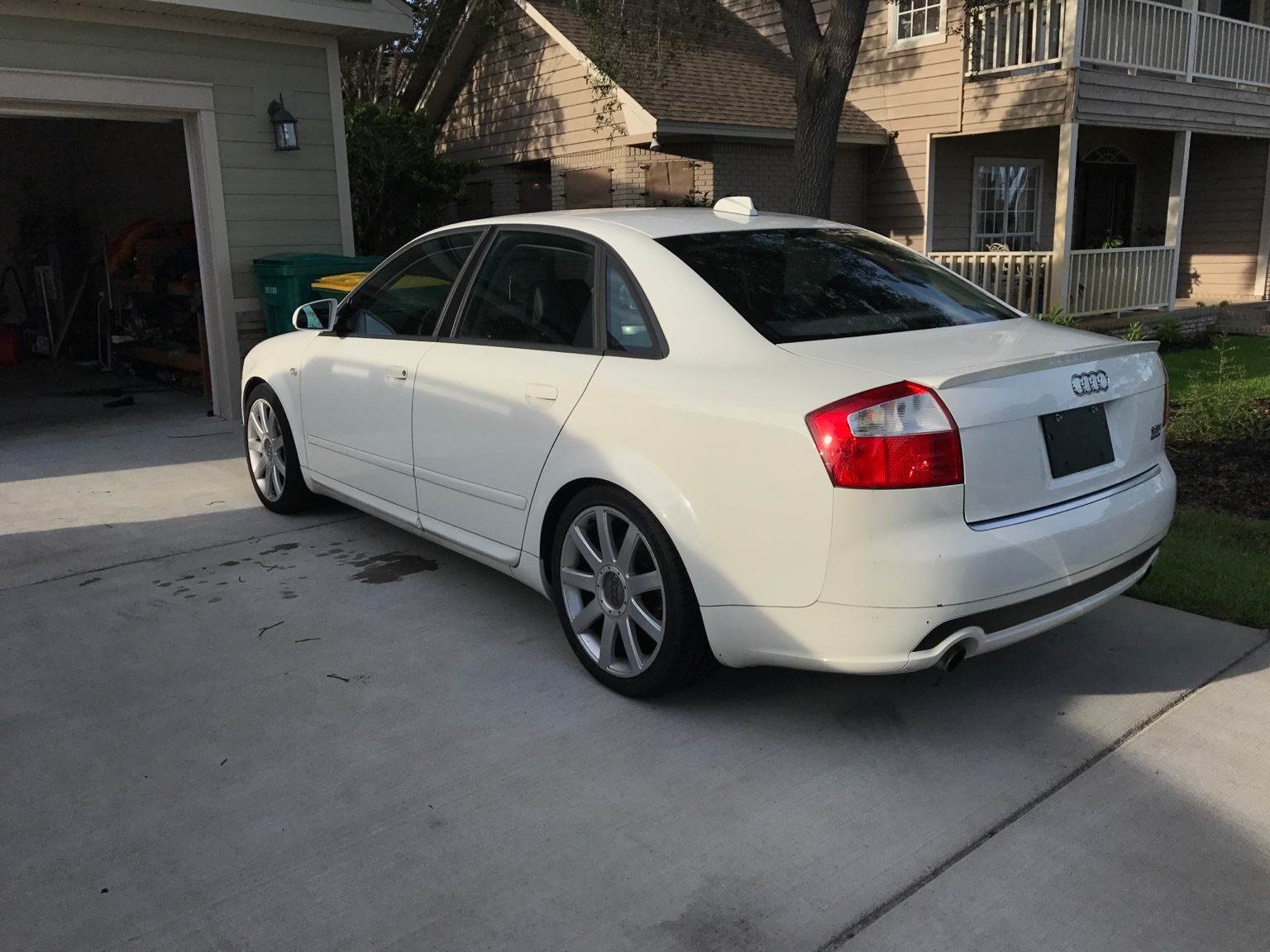 for sale 2004 audi a4 1 8t quattro arctic white ultra sport. Black Bedroom Furniture Sets. Home Design Ideas