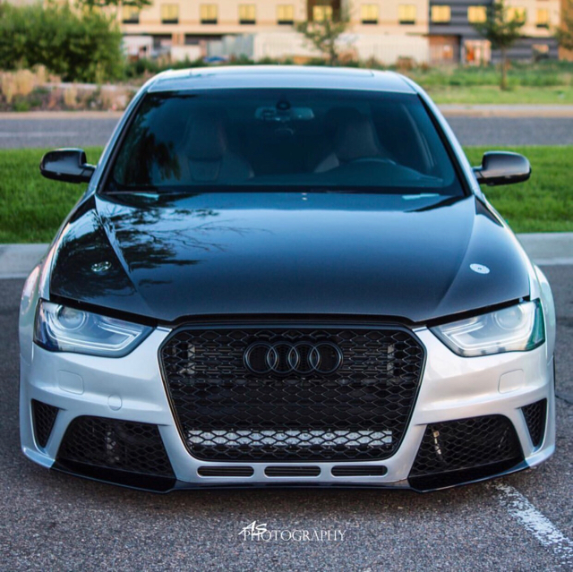 For Sale: A4/S4 B8.5 Facelift RS4 Front Bumper Kit.
