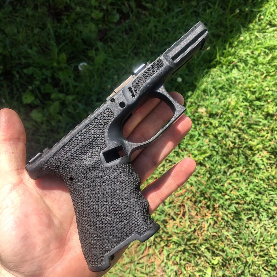 WTS stippled Glock 19 frame $150
