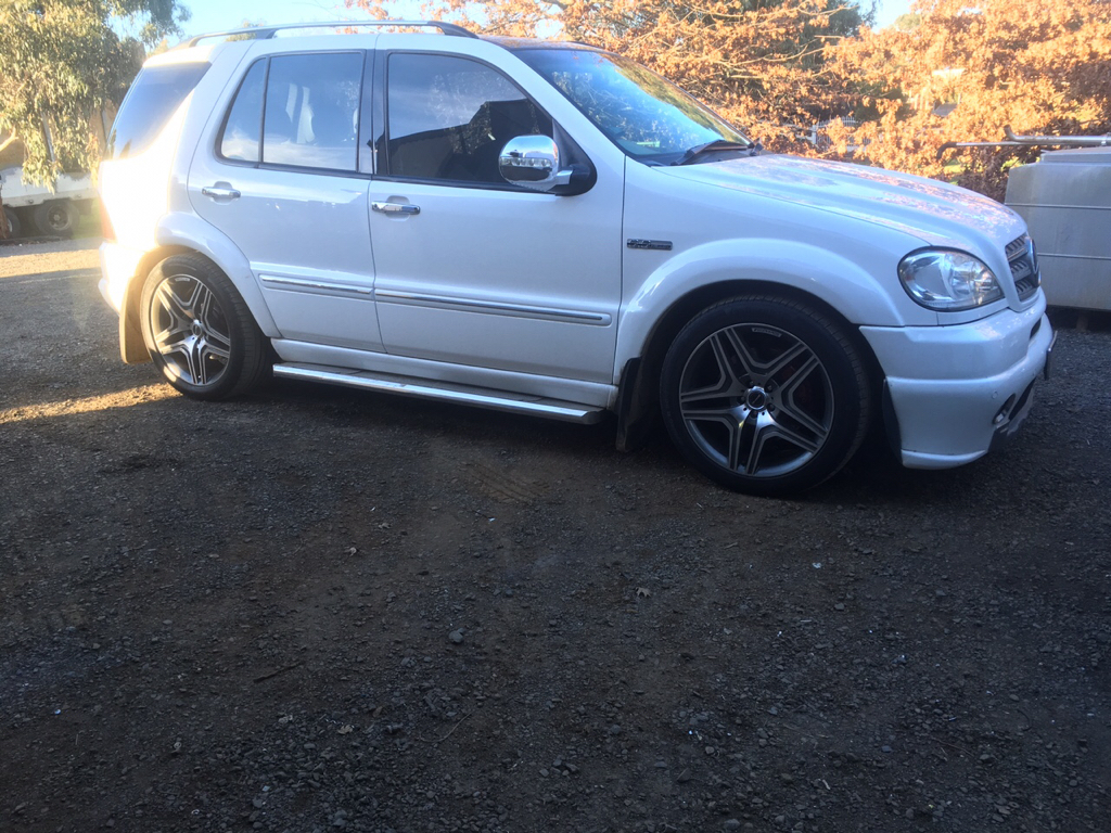 Need tires for ML55 with 65,000 miles - Mercedes-Benz Forum