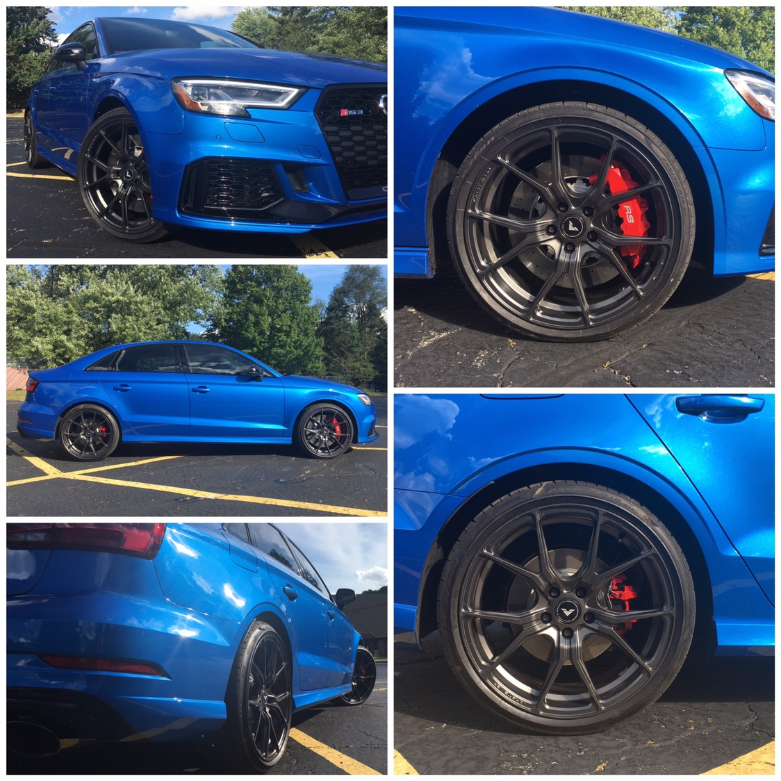 RS3 Wheel Fitment Information