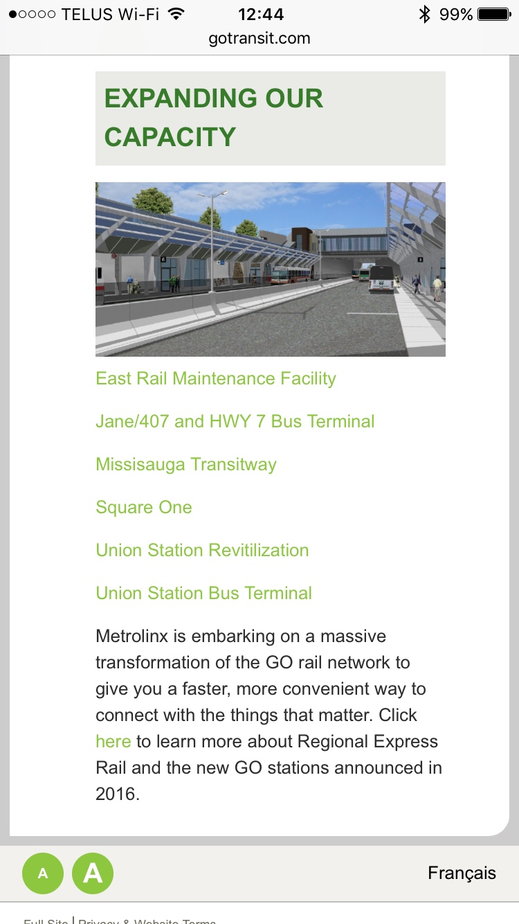 Metrolinx GO Transit Map - The RadioReference.com Forums