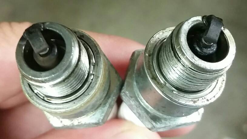 Reading spark plugs