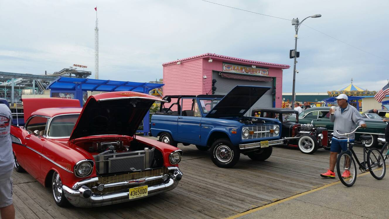 Wildwood NJ Boardwalk Car Show ClassicBroncoscom Forums - Wildwood car show