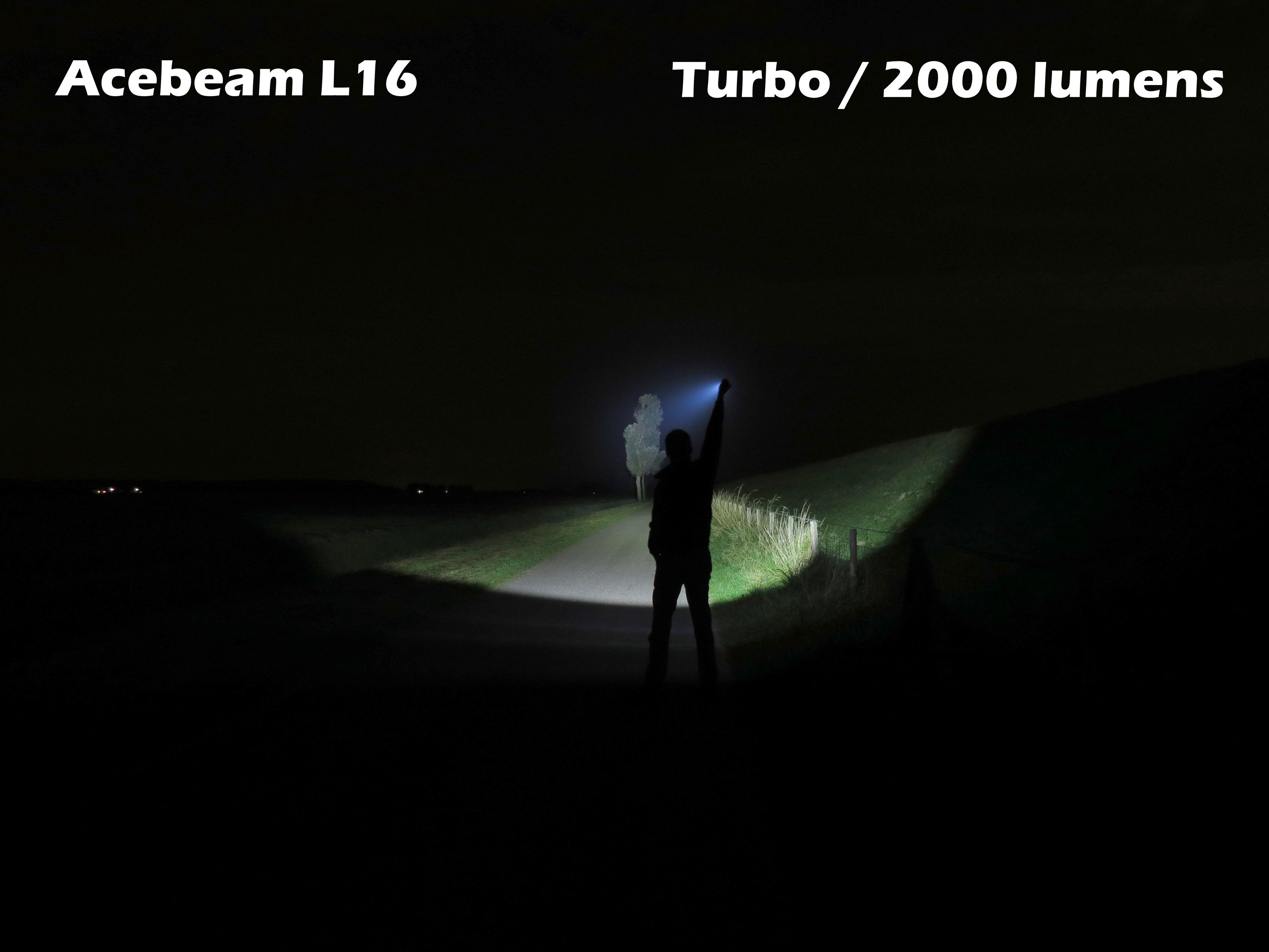 Acebeam L16 LED Flashlight Review – Extreme Lights