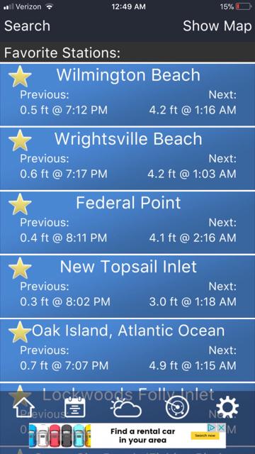 Tide Chart Wilmington Nc Hobitfullring