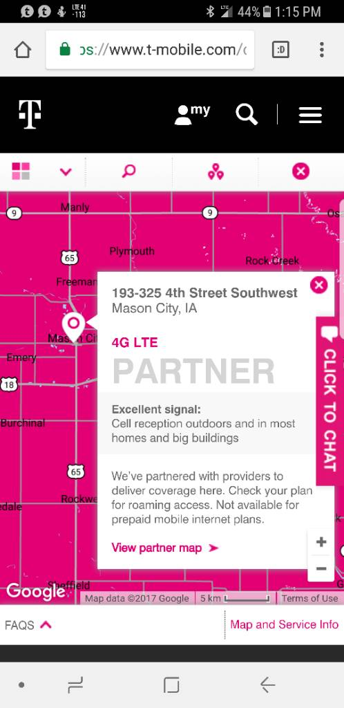 Does Us Cellular Data Coverage Map Mason City - Us cellular florida coverage map