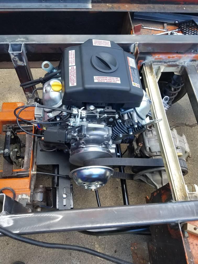 Taylor Dunn Gas Motor Conversion