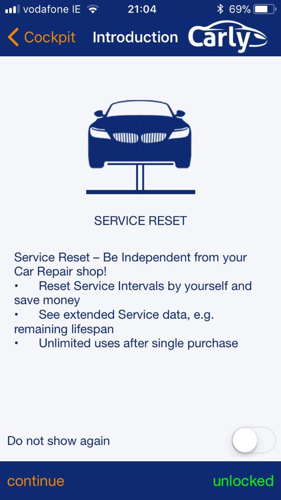 Diagnostics: Mobile App! Carly for BMW