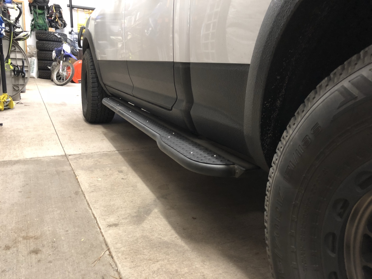 How Much Is A Ton Of Gravel >> Rock Sliders - Page 2