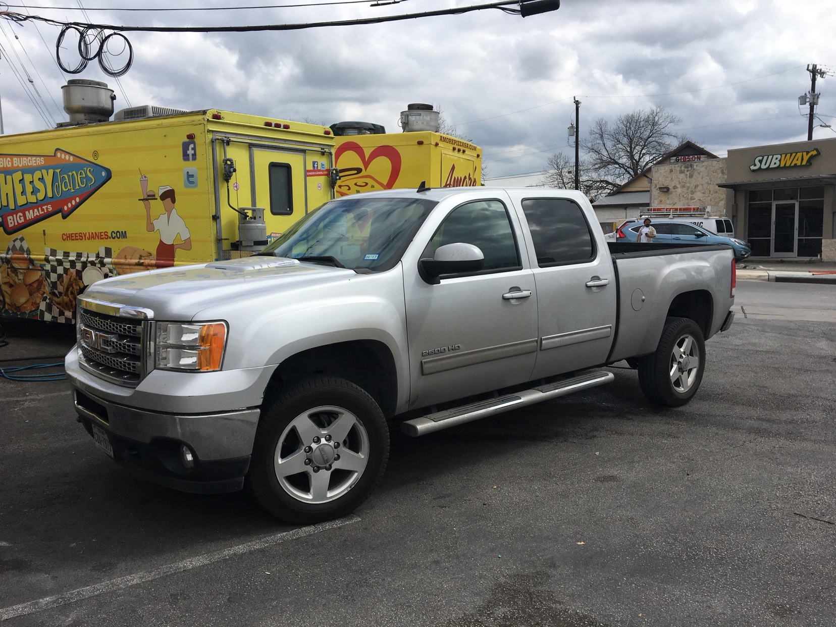 Slow rebuildbuild of my 2013 gmc sierra 2500 chevy truckcar there was also some hail damage on the bed too it was a fully optioned slt with 86k miles the dude cut me a really good deal on the truck publicscrutiny Choice Image
